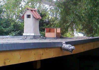 Eigen Designte Abzugshaube für Kamin/Grill im Garten